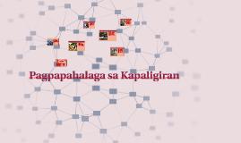 Copy of Copy of Copy of Pagpapahalaga sa Kapaligiran