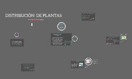 DISTRIBUCION DE PLANTAS