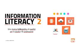 Riepilogo Laboratorio di information literacy - Cercare