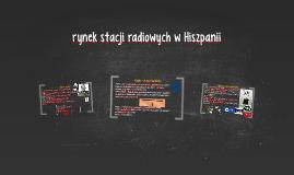 rynek radiowy w Hiszpanii
