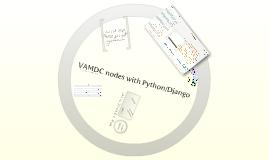 VAMDC nodes with Python/Django