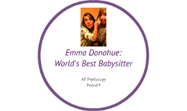 Emma Donahue:
