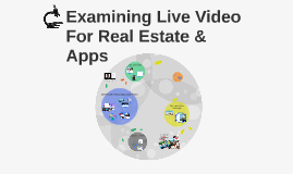 Examining Live Video For Real Estate