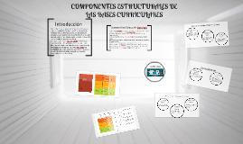 COMPONENTES ESTRUCTURALES DE LAS BASES CURRICULARES