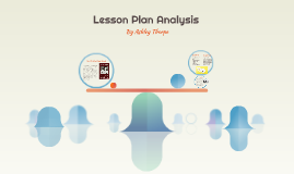 Lesson Plan Anaylsis