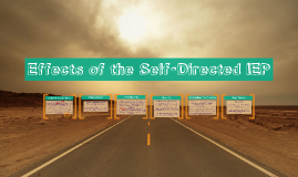 Effects of the Self-Directed IEP
