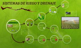SISTEMAS DE RIEGO Y DRENAJE