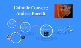 Copy of Catholic Convert: Andrea Bocelli
