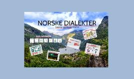 Norske dialekter