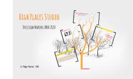 High Places Studio MBA 2019