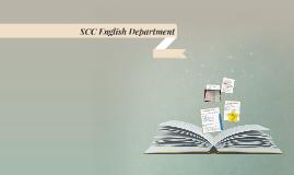 SCC English Department