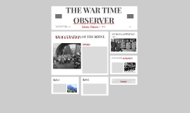 THE WAR TIME OBSERVER