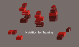 Nutrition for Training