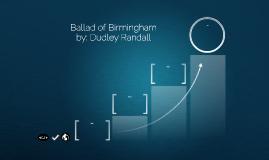 Ballad of Birmingham