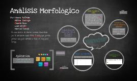 Copy of Copy of Análisis Morfológico