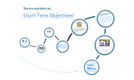 The In's and Out's of... Short Term Objectives!