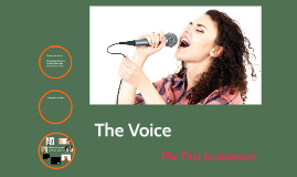 The Voice - the 1st Instrument Ever