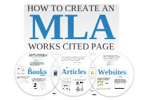 Copy of MLA Works Cited
