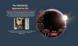 Behold Immanuel
