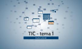 TIC - tema 1