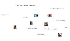 Speech 3--Communications 111