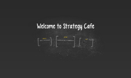 Welcome to Strategy Cafe