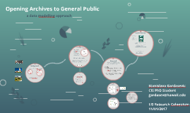 Opening Archives to General Public