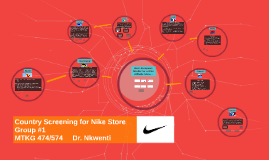 European Country Screening for Nike Store