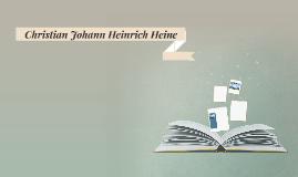 Christian Johann Heinrich Heine