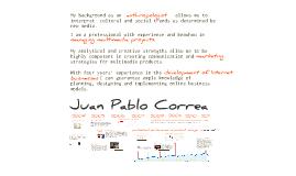 Juan Pablo Correa CV