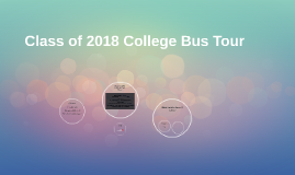 Class of 2018 College Bus Tour