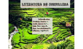 Copy of Copy of Literatura ng Cordillera