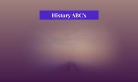 History ABC's