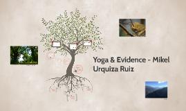 Yoga & Evidence