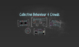 Collective Behaviour & Crowds