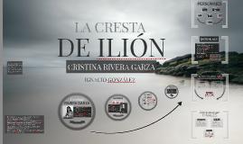 LA CRESTA DE ILIÓN.
