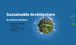 Copy of Copy of Sustainable Architecture