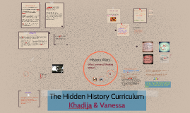 The Hidden History Curriculum