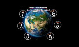 Teoria ecologica dei sistemi (Bronfenbrenner)
