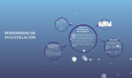 PERIODSMO DE INVESTIGACIÓN