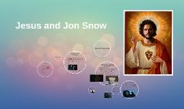 Jesus and Jon Snow