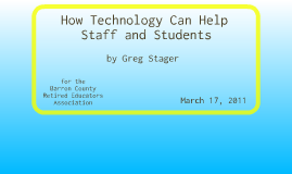 How Technology Can Help Staff and Students