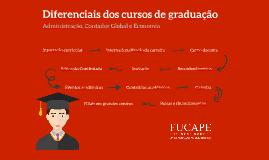 Diferenciais dos Cursos de Graduação