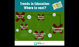 Trends in Education: Where to Next?
