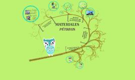 Copy of MATERIALES PÉTREOS