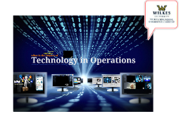 Overview of Technology in Operations Management
