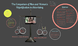 Copy of Comparison of Objectification of Men and Women in Advertising
