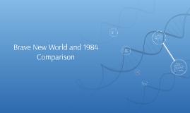 a comparison of brave new world