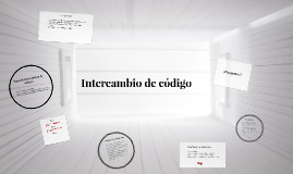 Intercambio de código