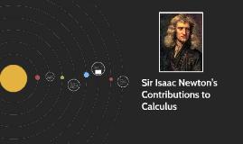Copy of Issac Newton's